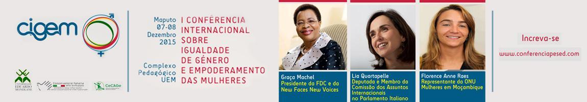 I Conferência Internacional sobre Igualdade de Género e Empoderamento das Mulheres
